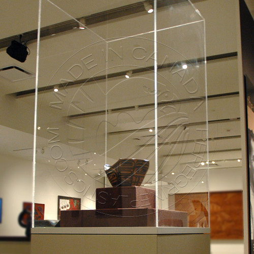 Museum Display / Vitrine | Custom Plastic Fabrication by Per