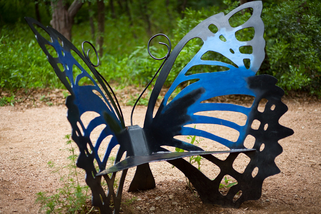 Butterfly Bench Not Sure Why I Decided To Post This