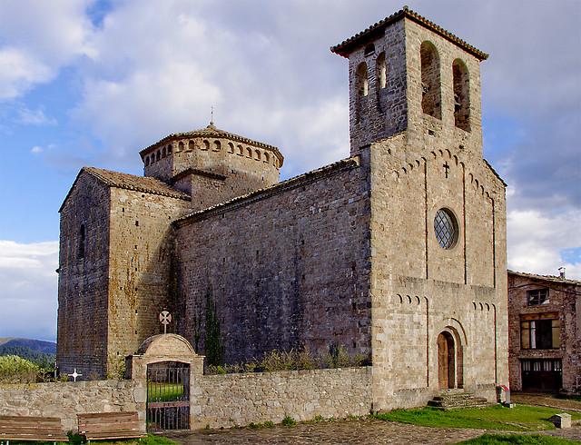 El romanic de Sant Jaume / Village romanesque