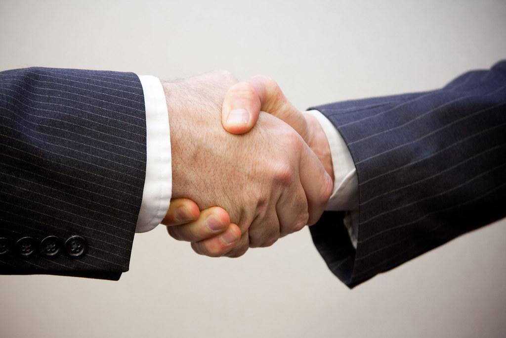 Handshake - 2 men