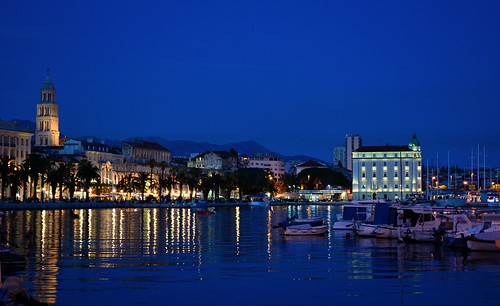 Fisherman's harbour (Split, Croatia)   by Bokeh & Travel