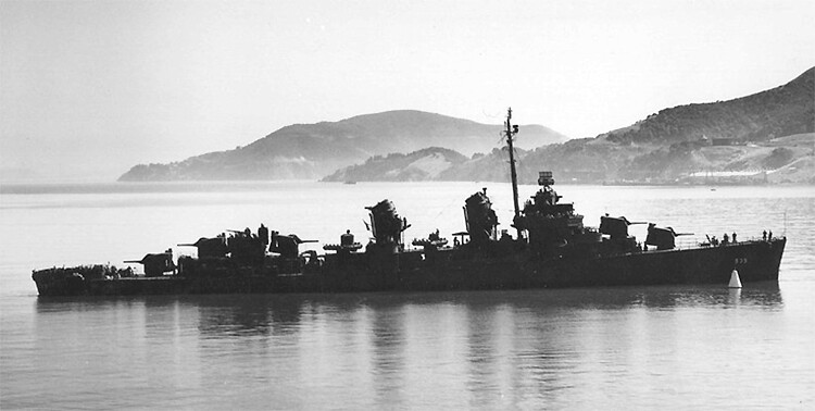 USS Miller (DD 535)