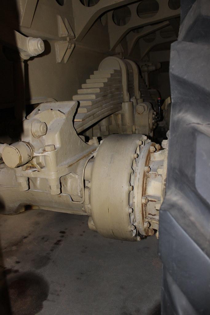 BERLIET T100 | berliet T100 axle seen at the berliet foundat… | Flickr