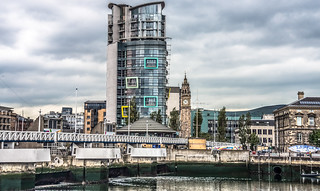 THE LAGAN - WATERFRONT AREA OF BELFAST CITY | by infomatique
