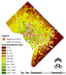 Suitability Gaps in Capital Bikeshare System