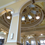 Location: the beautiful Edinburgh Central Library |