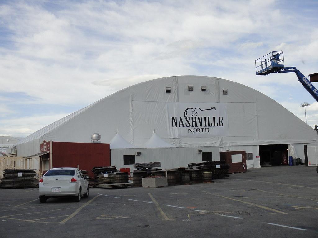 Calgary Stampede Setup 2011 Nashville North Tent Flickr