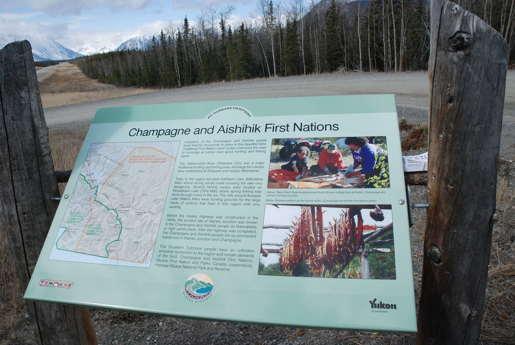 Champagne Aishihik First Nations Signage | Tad McIlwraith