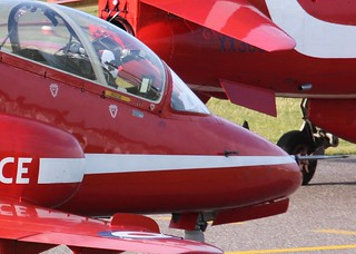 Red Arrows 2011. Exeter.