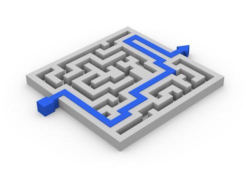 Maze Puzzle (Blender)   by FutUndBeidl