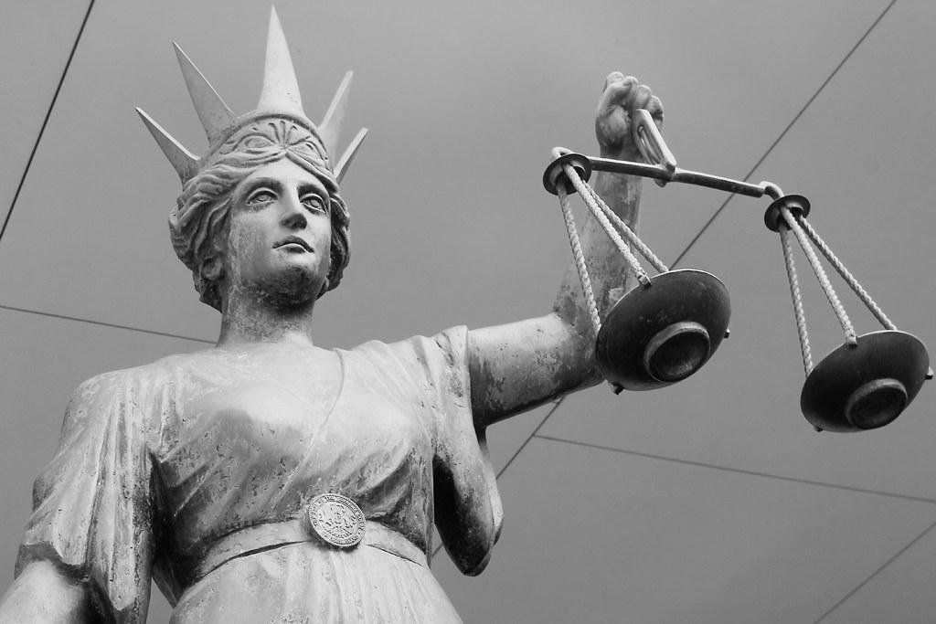 Scales of Justice Brisbane Supreme Court=