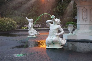 Forsyth Park Fountain   by Dizzy Girl
