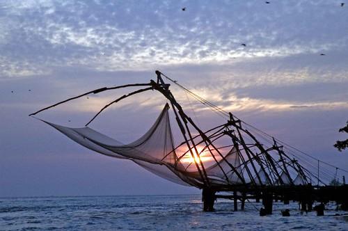 fishing net sunset DSC_0168 copy