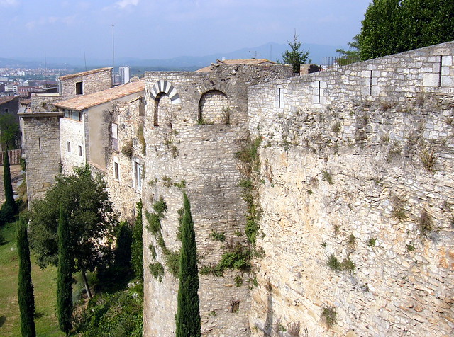 Girona, walls