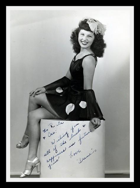 Irene Zolla, Singer...Dancer...Entertainer.