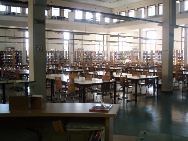 BU Droit Aix-en-Provence - La salle de lecture