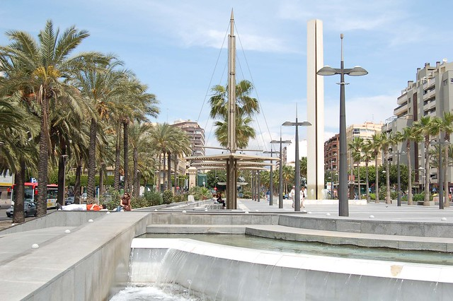 La rambla de Almería.