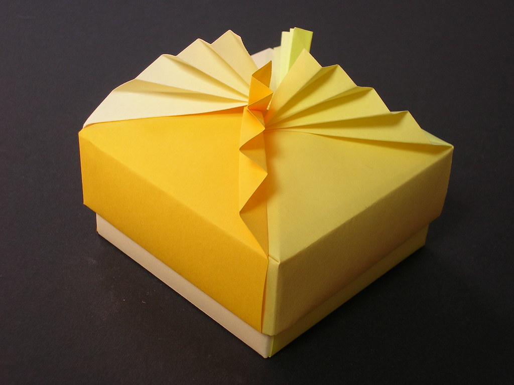 Marvelous Square Box With Pleated Lid Creator Tomoko Fuse Diagram Flickr Wiring Cloud Oideiuggs Outletorg