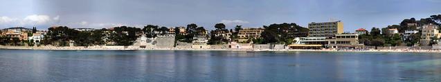 Anse de Rènecros Panorama