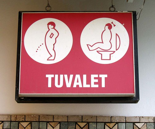 Toilet Sign | by levork