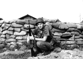 Bunker Duty At DaNang Airbase