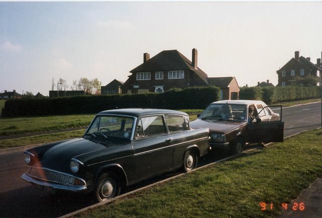 Anglia, Belle Isle, Leeds, April 26th 1991.