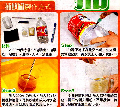 DIY mosquito trap - steps 1-3 | by Naruwan