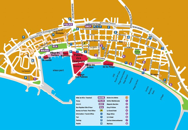 Map Of Cannes Map of Cannes | longplay | Flickr