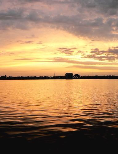 sunset ontario canada reflection water river lumix golden panasonic sarnia abc fz5 mappr stclairriver porthuron 4blueeyes thecontinuum theworldthroughmyeyes twtme