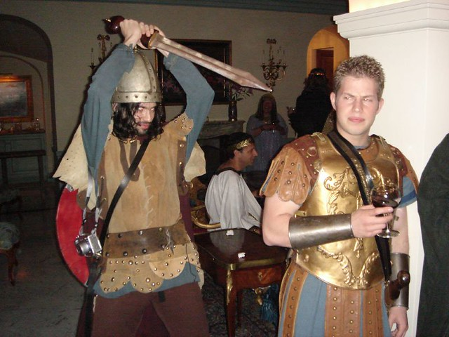 The Visigoth versus the Roman