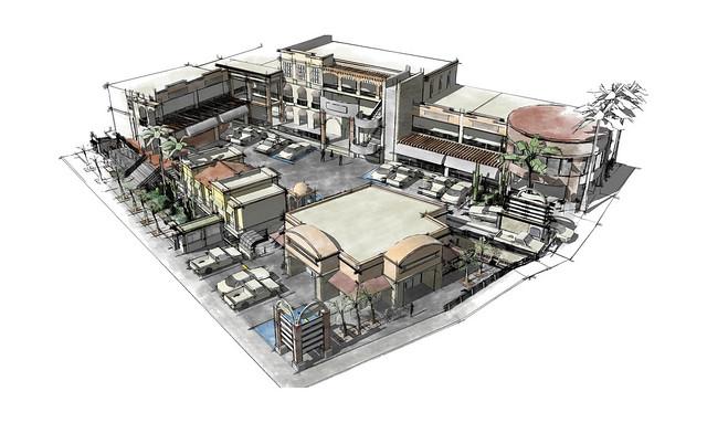 Nogales Plaza, Render 2