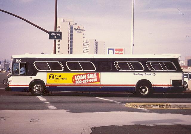 Gmc San Diego >> San Diego Transit Gmc A 1982 Gmc Bus Made By Gm Canada Ope
