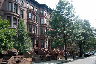 Brooklyn - Park Slope: Eighth Avenue Brownstones | by wallyg