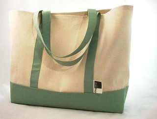 Unlined Canvas Tote