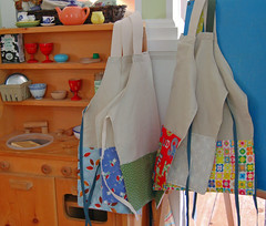 a slew of aprons | by SouleMama