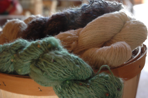 Freshly Spun Yarn From the Wool | by paurian