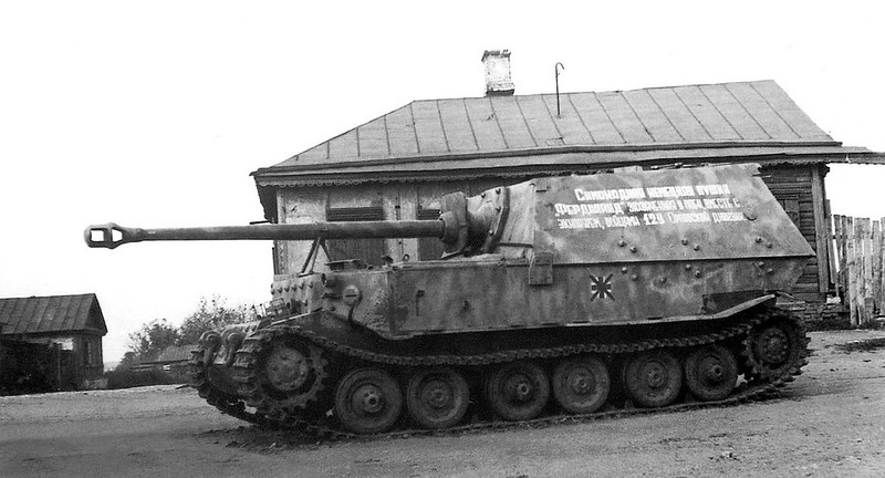 "Italian Self propelled artiglieria gun ""Ferdinando"""