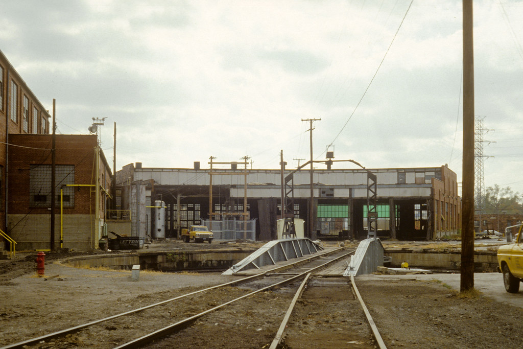 Frisco - Roundhouse & turntable