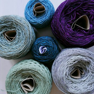 a lot of madelinetosh prarie | by Diana Prince