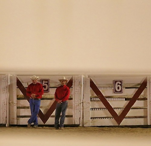 People_Albert_Susan_Down Time At The Rodeo | by geosocietyphila