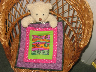 Quilt for teddy