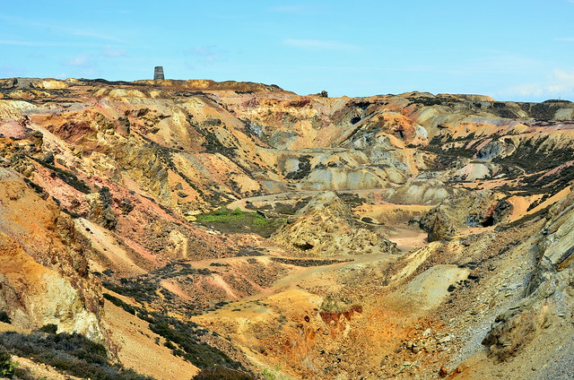 Parys Mountain Copper Mine Near Amlwch On Anglesey
