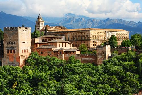 Palacio de Carlos V, Alhambra | by trioptikmal