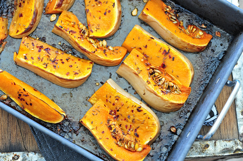 roast butternut pumpkin | by jules:stonesoup