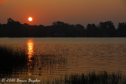 usa nature michigan horton northamerica misunrise lakefarwell