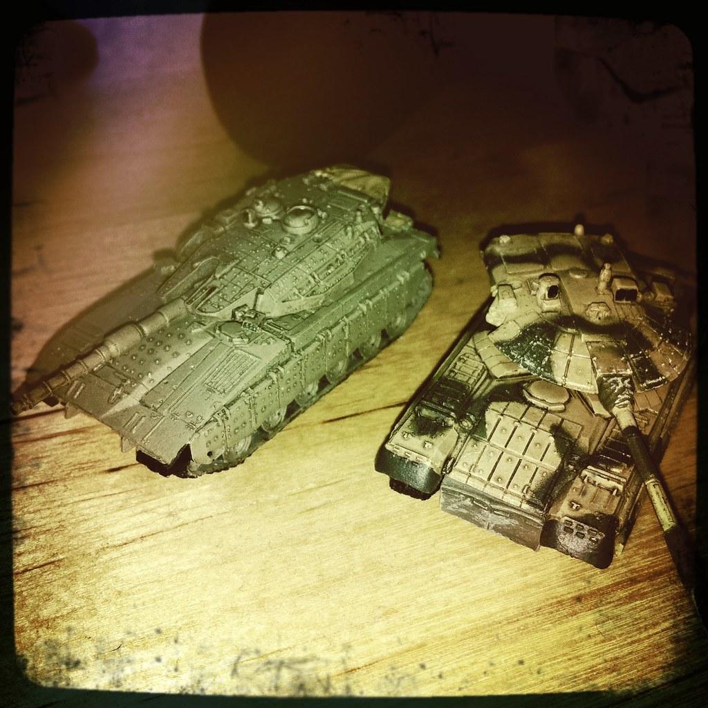 Miniature Tanks | Lens: Lucifer VI Flash: Standard Film: Flo