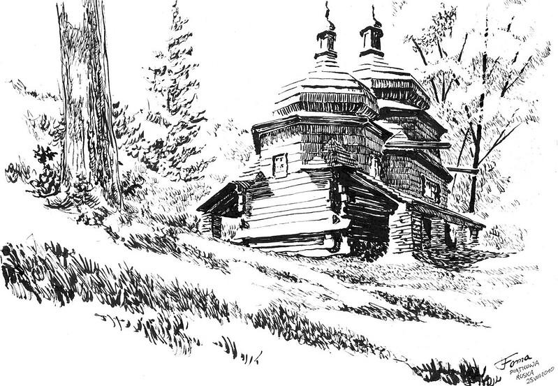 Ortxodox Church in Piątkowa Ruska