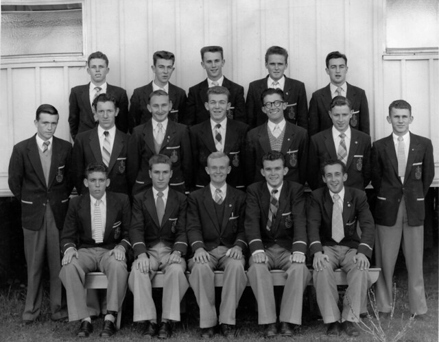 Section 27, Newcastle Teachers' College, NSW, Australia - 1957