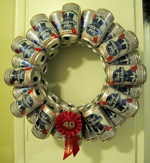 beer can wreath | by krupp