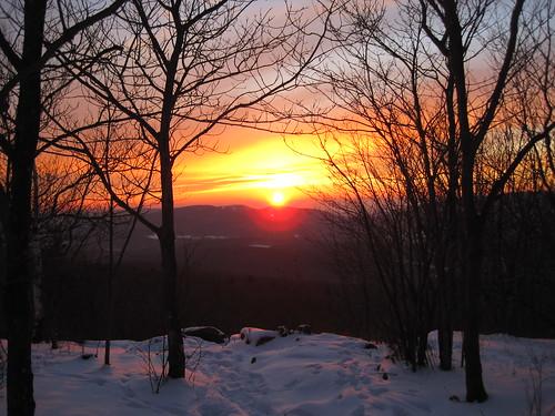 winter sunset snow cold outdoors colorful view hiking snowy scenic berkshires vista overlook mountgreylock taconics berkshirecounty mtgreylockstatereservation mountgreylockstatereservation